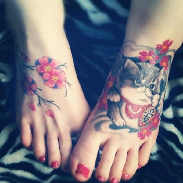 40 Superior Foot Tattoo Concepts 2018