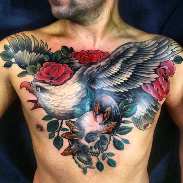 40 Spectacular Eagle Tattoo Concepts