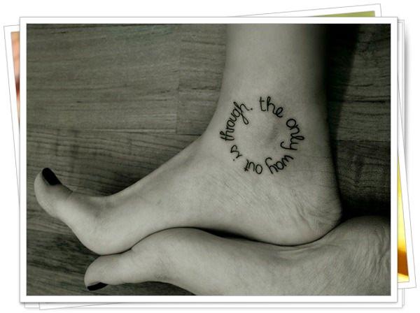 45 Good Fashions Stunning Tattoos Written