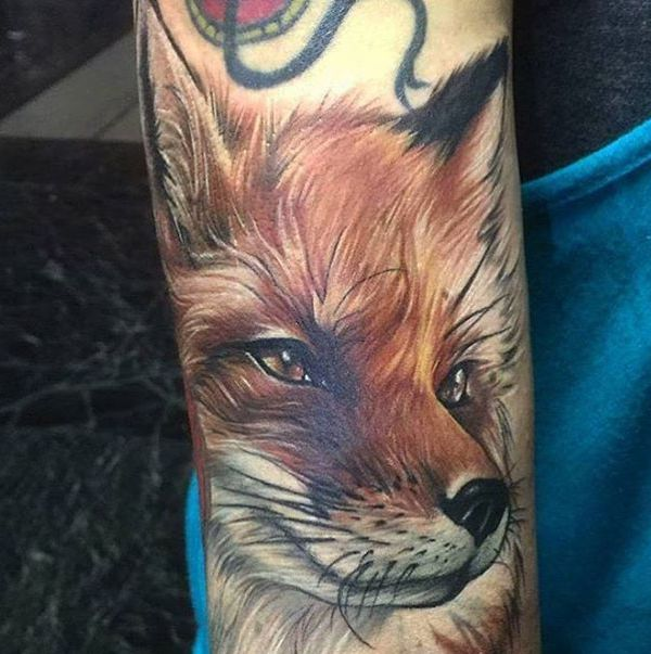 Fox tattoos and their meanings