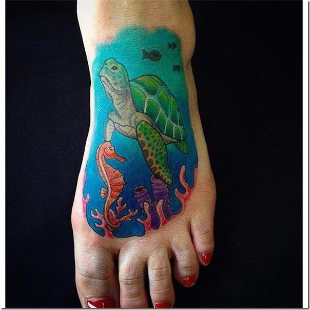 65 Turtle Tattoos So That You Can Be Impressed » Nexttattoos