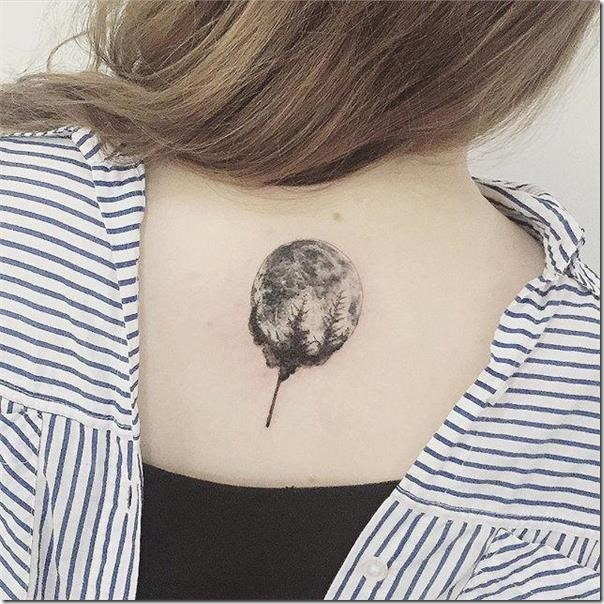 Moon tattoos to get impressed
