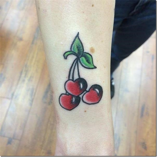 Superb and galvanizing cherry tattoos