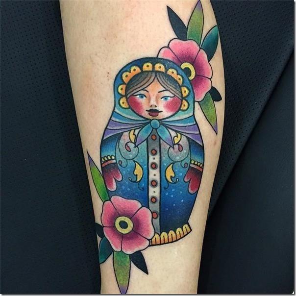 Russian Doll Tattoo Matrioska - Spectacular Photographs