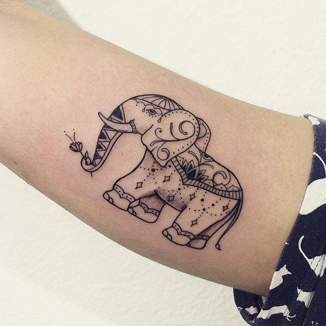 65 Elephant tattoos
