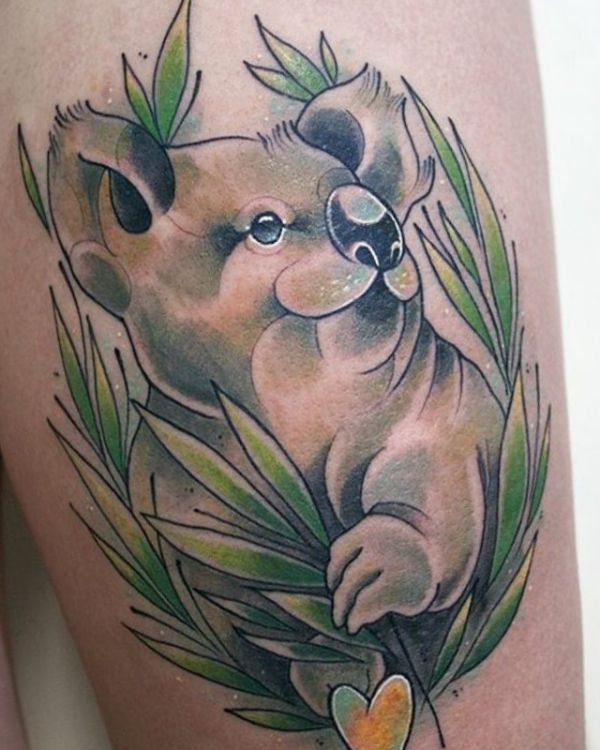 22 bear tattoo concepts - footage and that means