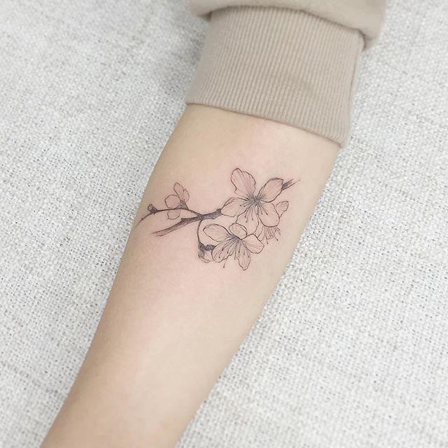 60 Cherry Blossom Tattoos