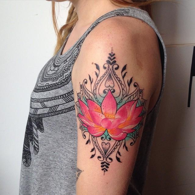 65 Stunning and Inspiring Lotus Flower Tattoos