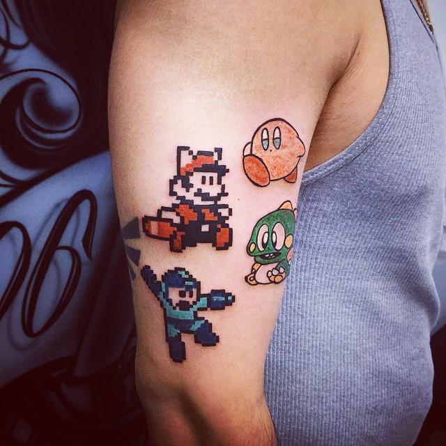 70 Tremendous Mario Bros Tattoos