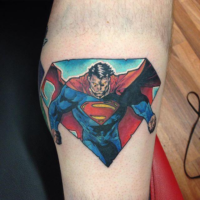 60 Superman Tattoos » Nexttattoos