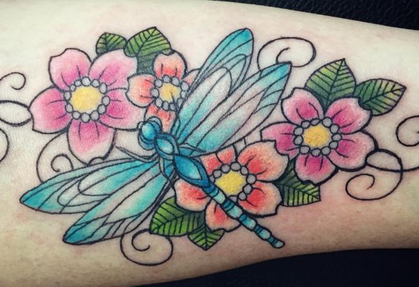 27 great dragonfly tattoos and their that means