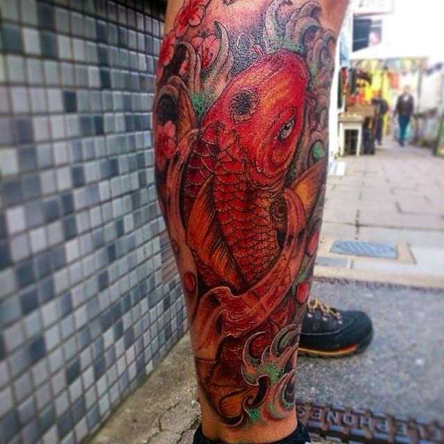 60 Stunning and Inspiring Carp Tattoos