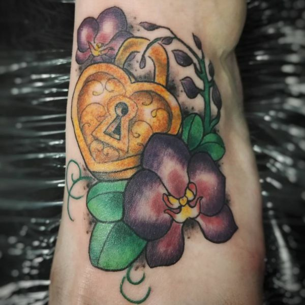 Orchid Tattoos - 25 Concepts, Meanings and Designs