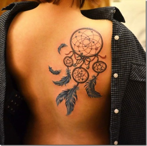 Magnificent Dream Catcher Tattoos On The Proper