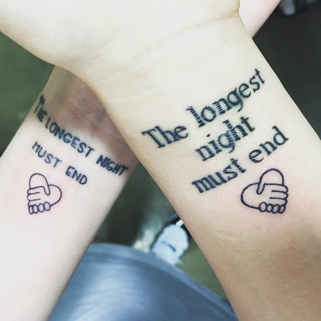 120 Phrase Tattoos