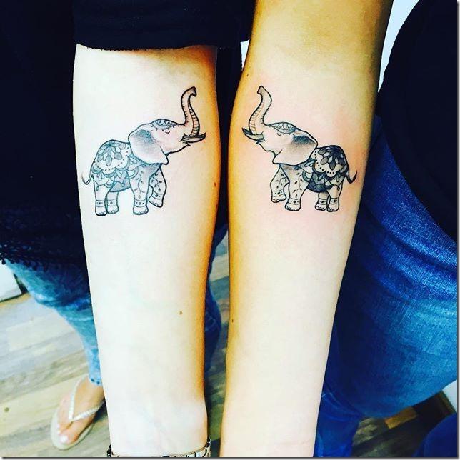 Elephant tattoos