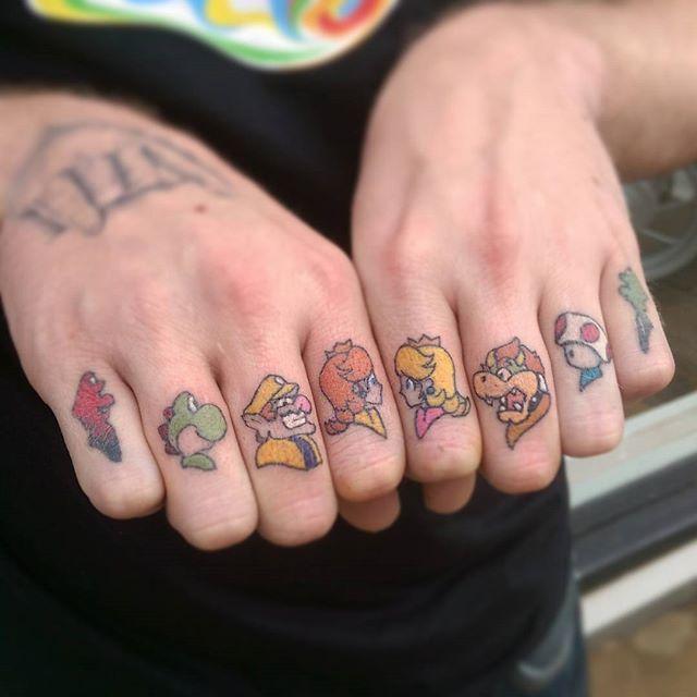 6ff2daeab 70 Tremendous Mario Bros Tattoos » Nexttattoos