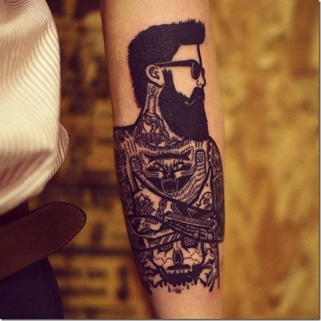 Males's tattoos on the arm - good pictures