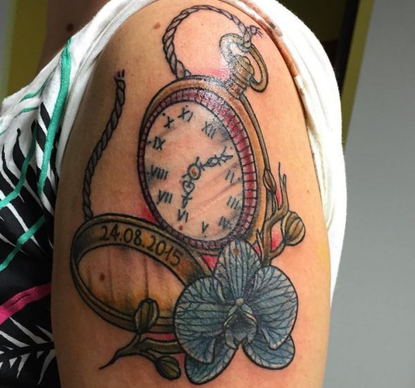 Watch Tattoos: 25 Concepts, Meanings, Photos and Designs