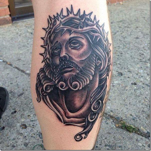 Tattoos of Jesus Christ