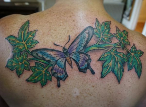 Ivy Tattoo - Its which means and 12 concepts