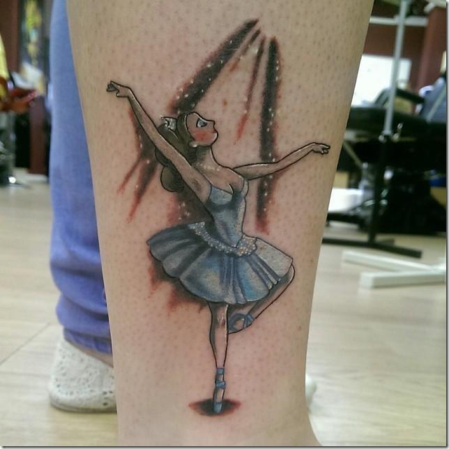 Ballerina tattoos