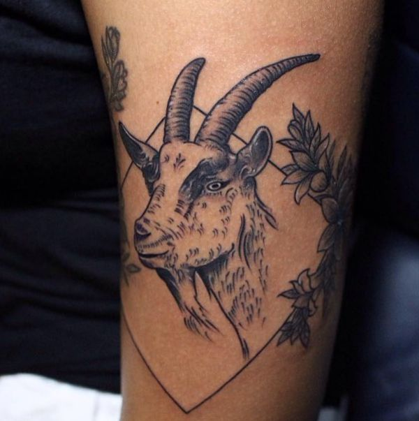 20 stunning goat tattoos and their meanings
