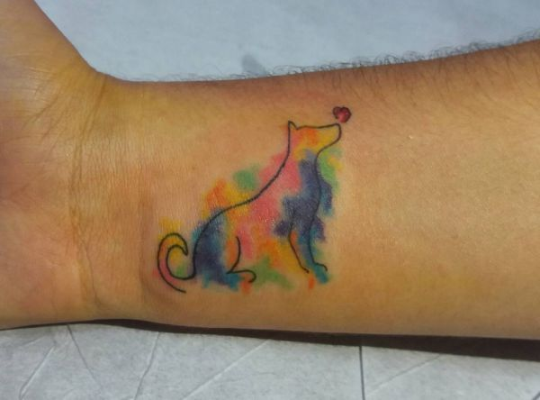 Canine tattoo designs with meanings