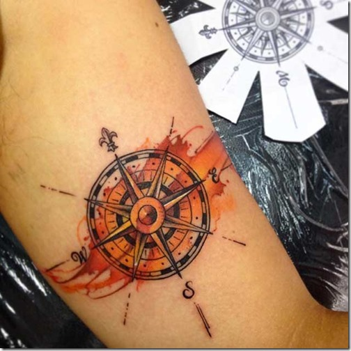 Incredible Friggin Compass Tattoos Nexttattoos