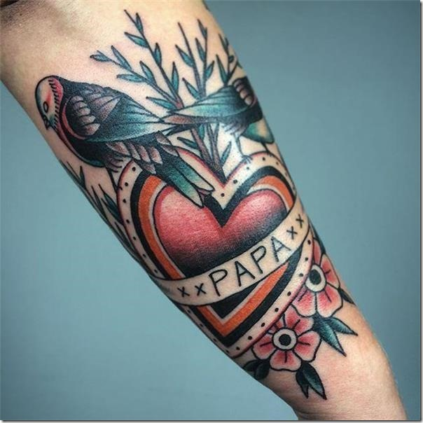 Lovely and provoking chicken tattoos