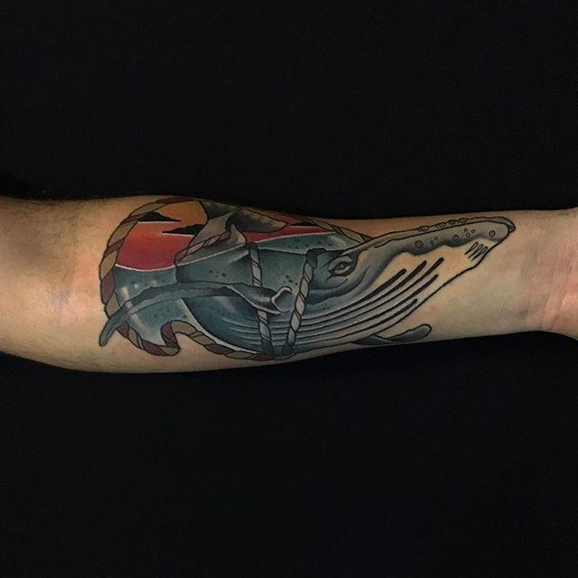 60 Tattoos of Whale - Footage and Drawings Lindos