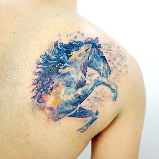 65 Artistic Horse Tattoos