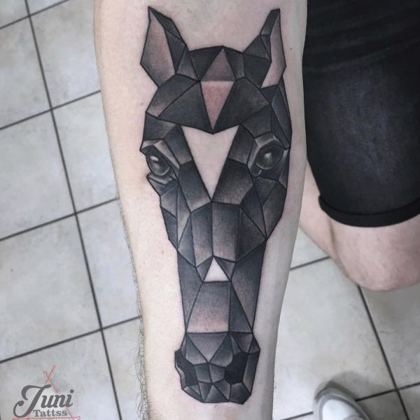 Horse Tattoo Designs with Meanings - 35 Concepts