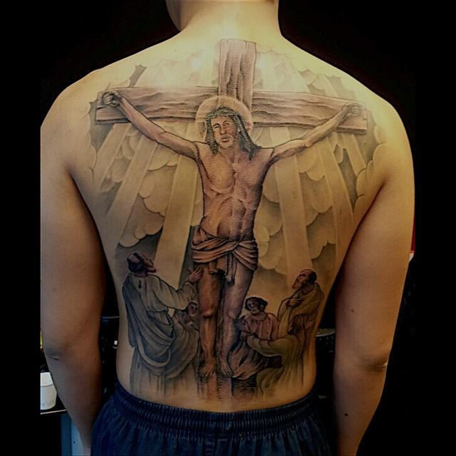 70 Tattoos of Jesus Christ that display devotion and religion