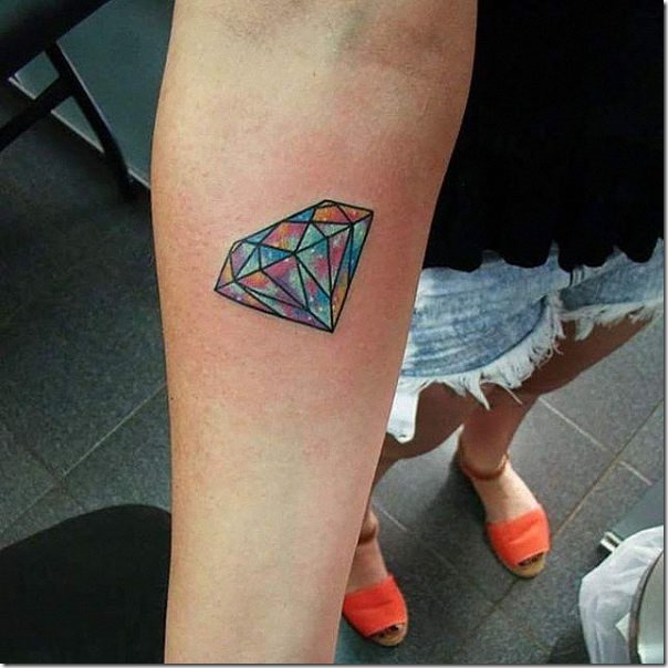 Lovely And Provoking Diamond Tattoos Nexttattoos