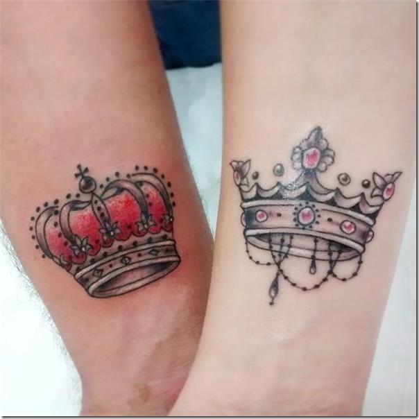 Beautiful And Inspiring Crown Tattoos Nexttattoos