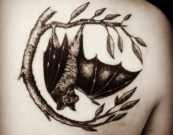 25 fascinated bat tattoos and their meanings