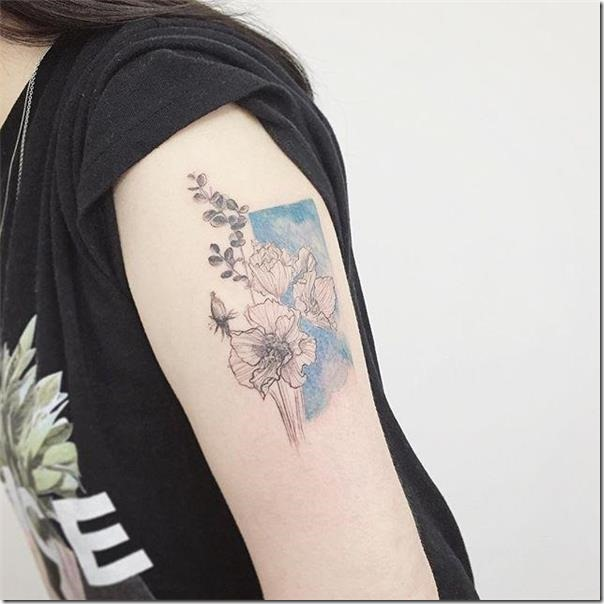 130 wonderful feminine tattoo recommendations in your arm