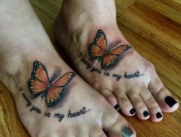 20 stylish foot tattoo concepts