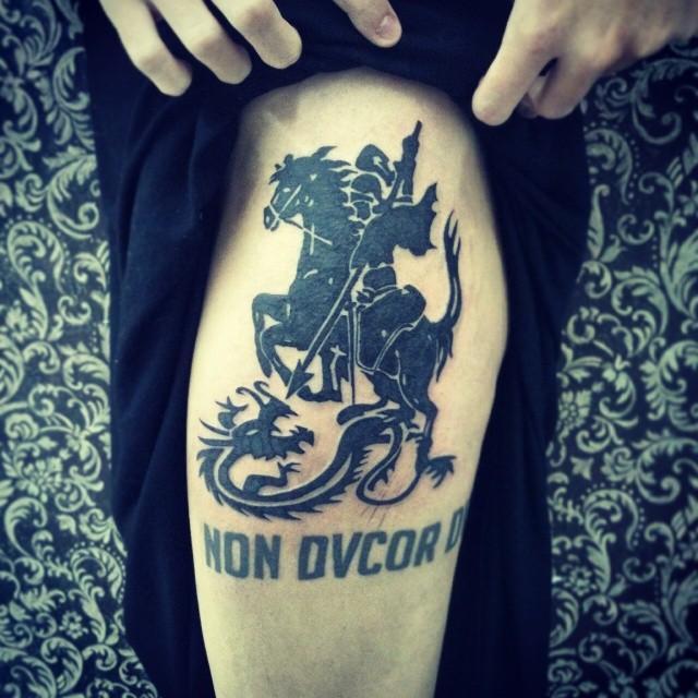 50 Tattoos of Saint George