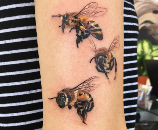 Bees Tattoos Designs And Meanings Nexttattoos