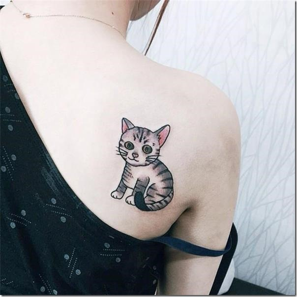 Tattoos for cat lovers
