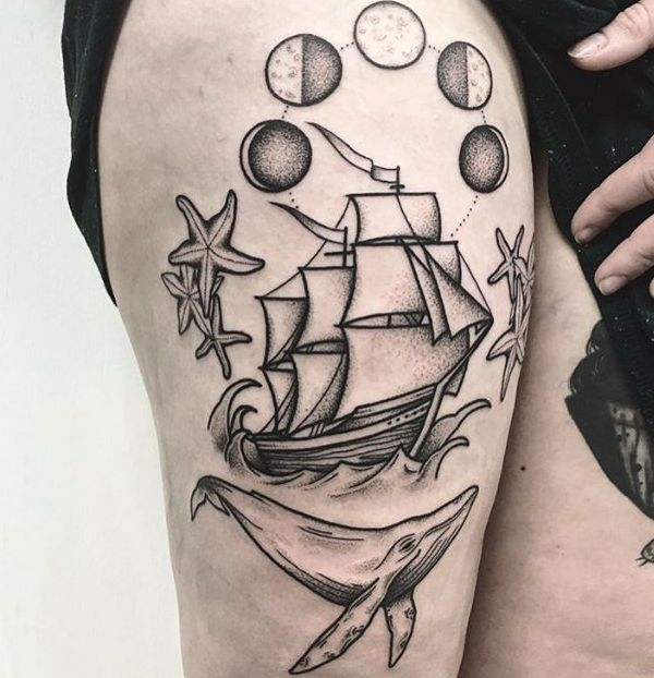 Ship tattoos and their meanings
