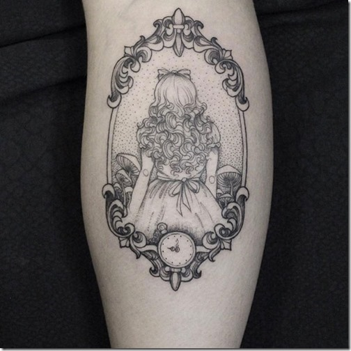 Greatest Of Alice In Wonderland Tattoos Nexttattoos