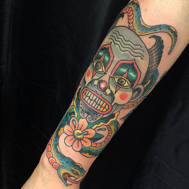 65 Clown Tattoos