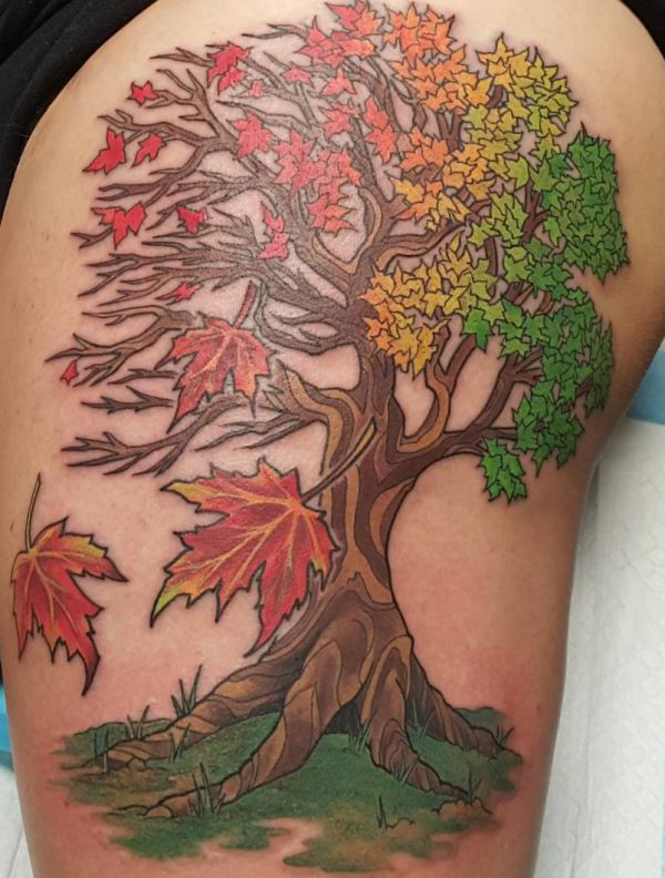 Tree Tattoo - Its That means and 40 Nice Design Concepts