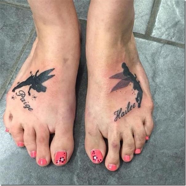 Lovely and galvanizing fairy tattoos