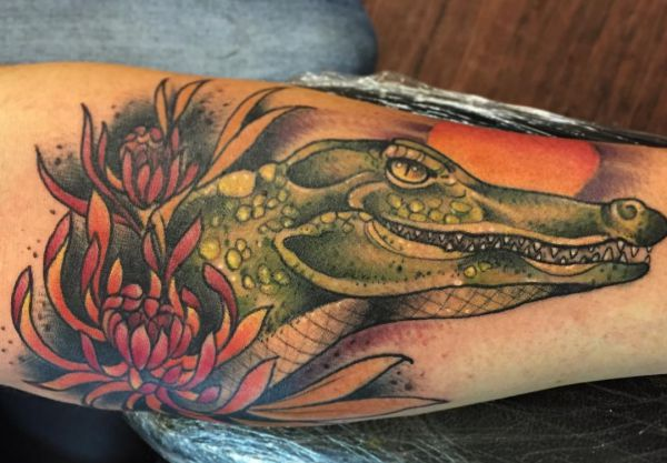 19 Crocodile Tattoo Designs - Footage and That means