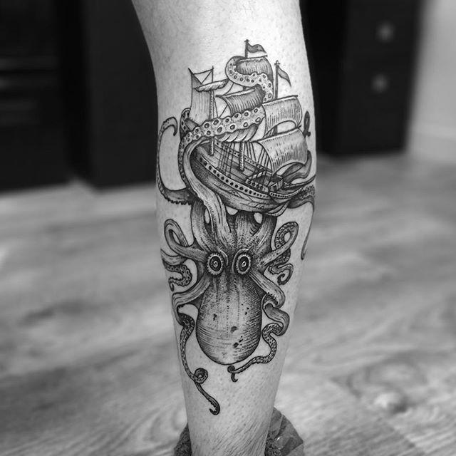 60 Superior Octopus Tattoos - Pictures