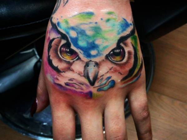 25 Owls Tattoos - It's a image of knowledge